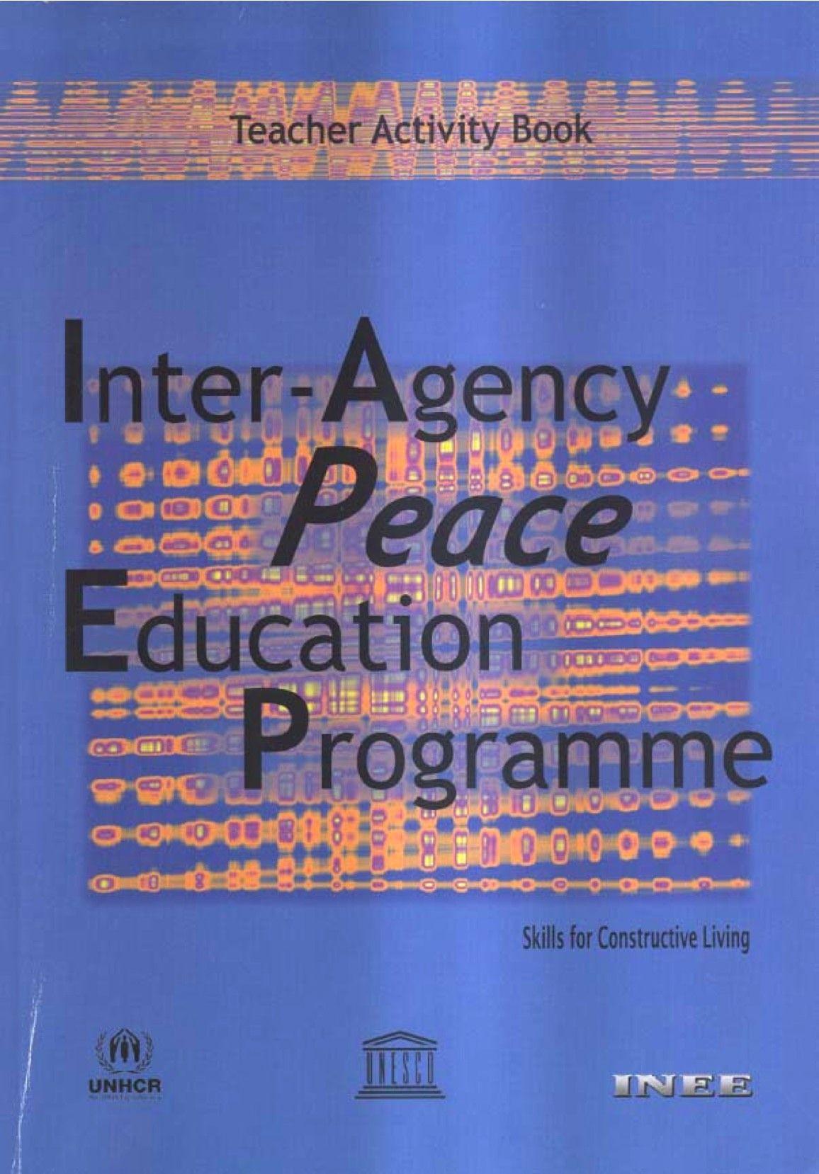 Inter Agency P.E.P.: Skills For Constructive Living: Teacher Activity Book