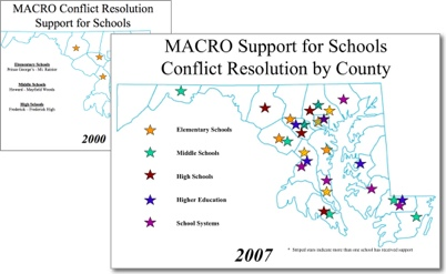 growth in school programs 2000-2007